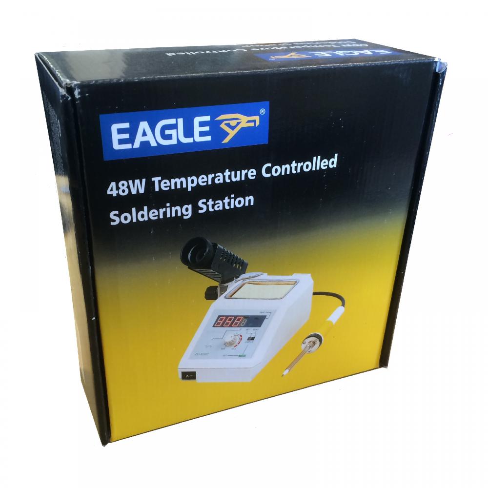 eagle temperature controlled professional digital soldering iron station 48w ebay. Black Bedroom Furniture Sets. Home Design Ideas