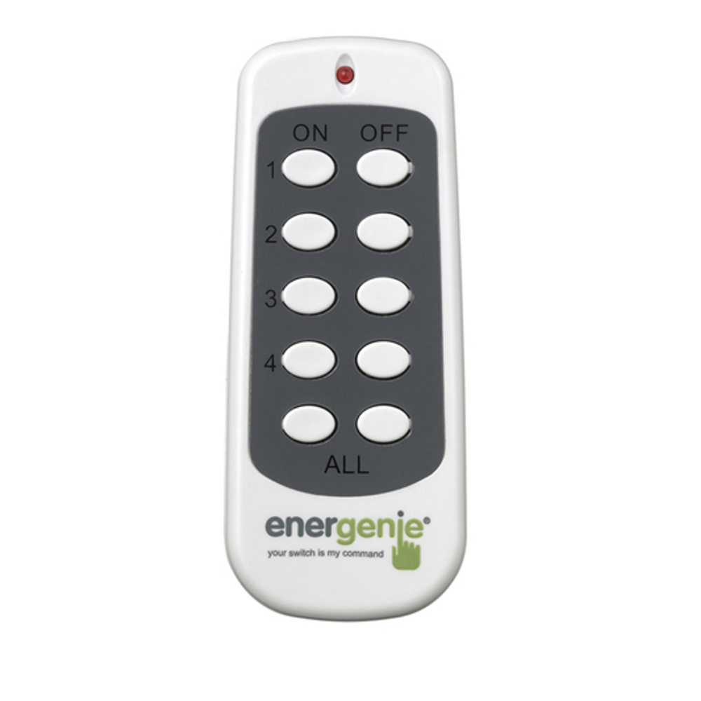 energenie additional replacement radio remote control. Black Bedroom Furniture Sets. Home Design Ideas