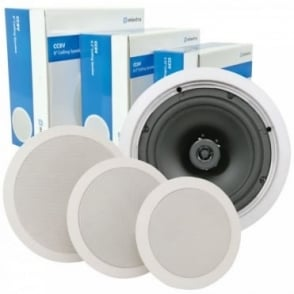 2-Way Ceiling Speakers Up to 120w (100v & 8 Ohms)