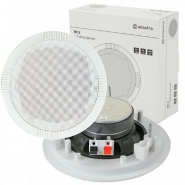 "35w 8ohm White Ceiling Speaker 130mm 5"""
