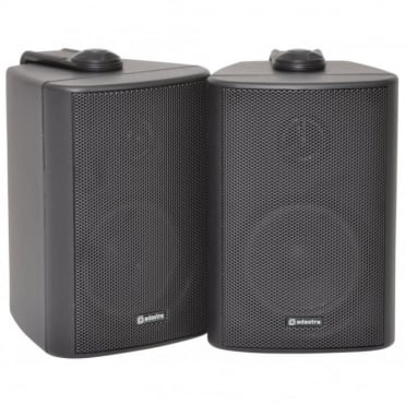 "BC Series - Stereo Background Speaker (Pair) in Black White 3-8"" Versions"