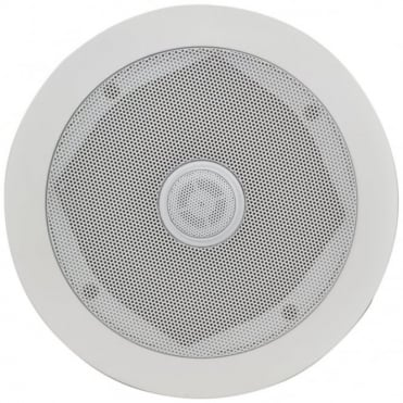 "C5D Ceiling Speaker With Directional Tweeter 80w 5.25"" Inch White"