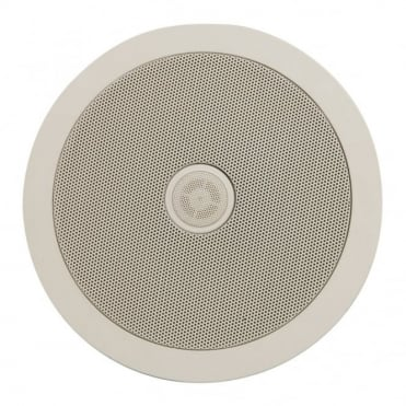 "C6D Ceiling Speaker With Directional Tweeter 100w 6.5"" Inch White"