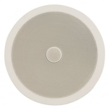 "C8D Ceiling Speaker With Directional Tweeter 120w 6.5"" Inch White"