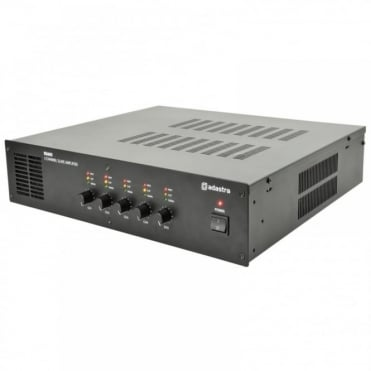 RS605 100V Or Low Impedance Ohms 5 x 60w Zone Amplifier