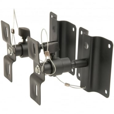 Adjustable Speaker Brackets for Wall or Ceiling Mounting 5Kg Load