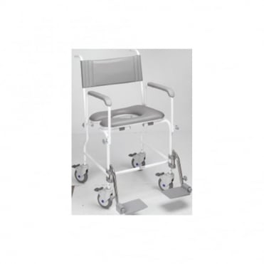 Aquamaster (A06) Attendant Propelled Shower Commode Chair
