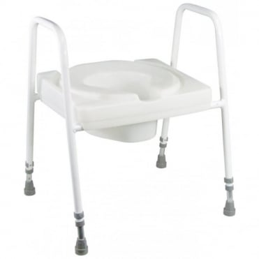 Ashby Lux Toilet Seat and Frame
