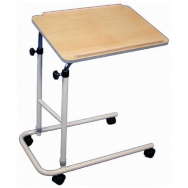 Beech Effect Canterbury Height & Angle Adjustable Multi Table with Castors