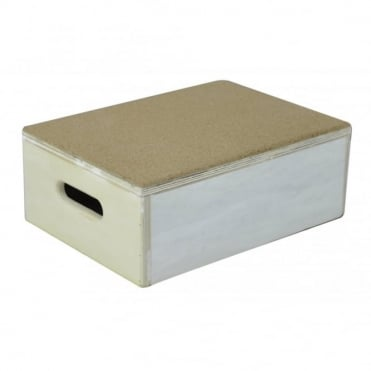 Cork Top Step Box 6 inch with rubber base