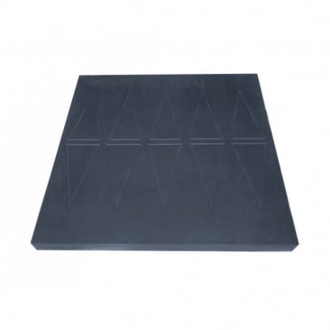 Easy Edge Threshold Rubber Ramp 60x760x750