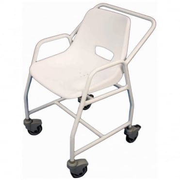 Hythe Mobile Shower Chair with Castors