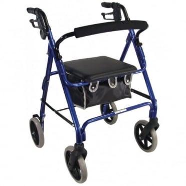 Lightweight Rollator Blue