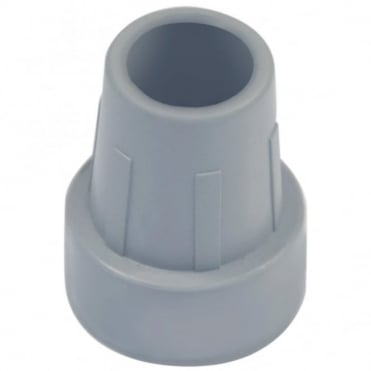Replacement Grey Rubber Ferrule for walking frames, toilet / shower seats etc 25mm