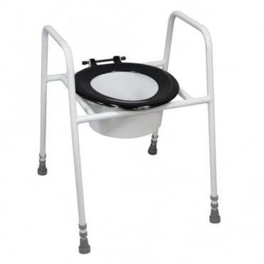 Solo Skandia Raised Toilet Seat and Frame