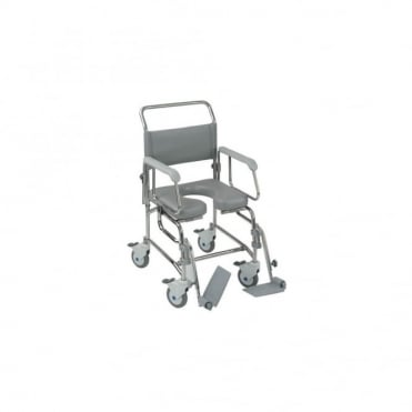 Transaqua (TA6) Attendant Propelled Shower Commode Chair