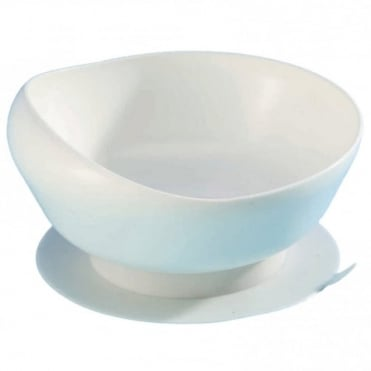 White Large Scoop Bowl