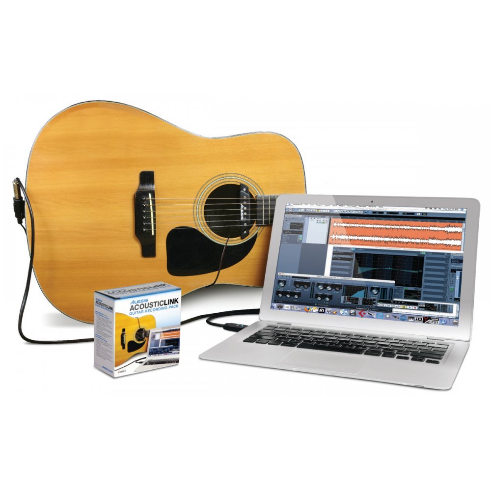 direct acoustic guitar to pc or laptop recording software pack. Black Bedroom Furniture Sets. Home Design Ideas