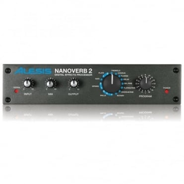 NanoVerb 2 Digital Sound Effects Processor Reverb Delay Chorus Studio
