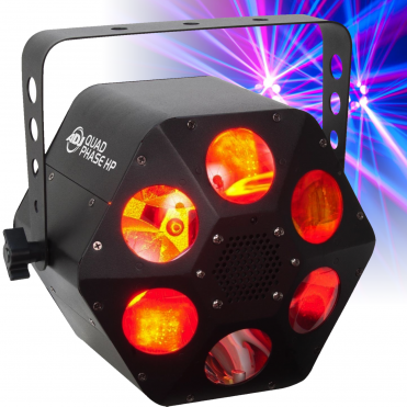 Quad Phase HP 32w LED DMX Room Filling Party Disco Lighting FX