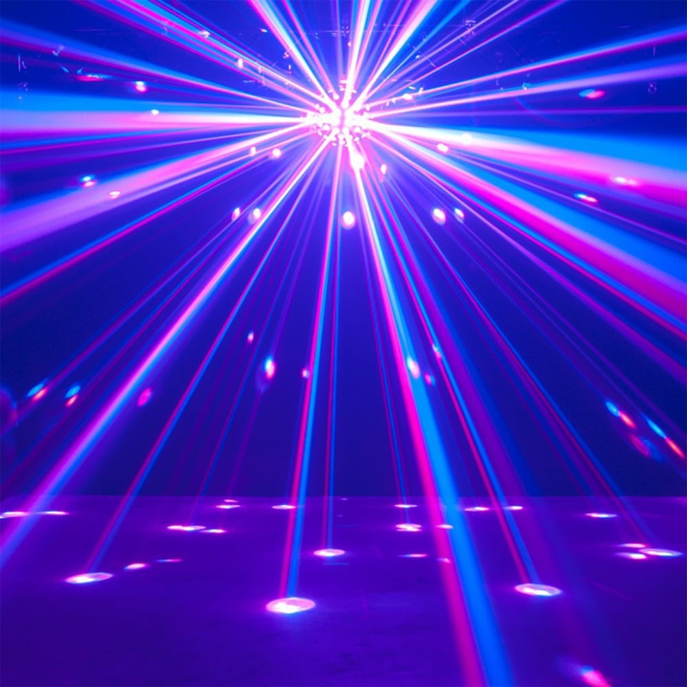 """8/"""" Mirror Ball with Base Disco Ball Party Light Effects"""