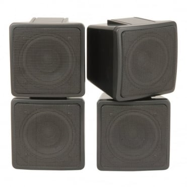 2 Way Satellite Speakers / Pair 3 Inch 100w Max Power
