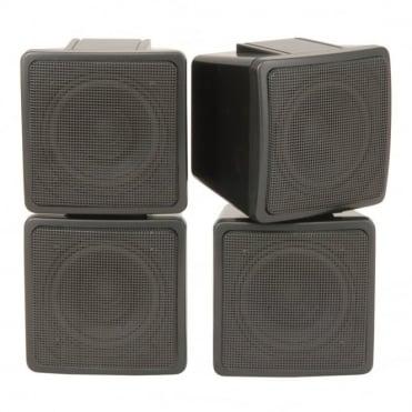 2 Way Satellite Speakers / Pair 3 Inch 100w Max Power