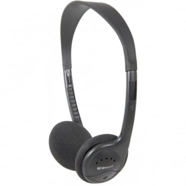 SH30T Stereo Mono Slide Switch Headphones