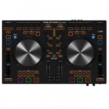 CMD Studio 4A DJ Controller 4 Deck Plus Software Decadance LE