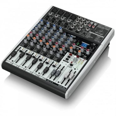 Professional X1204USB 12-Channel PA Mixer Pub Gig Live Sound Recording