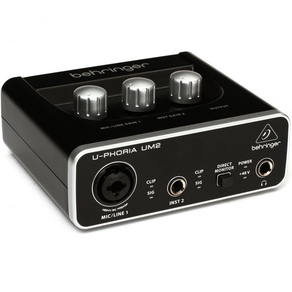 um2 u phoria usb audio interface with switchable 48v phantom power. Black Bedroom Furniture Sets. Home Design Ideas