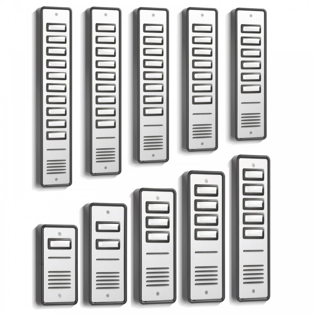 1 To 10 Way Door Entry Front Panels For Door Entry Systems