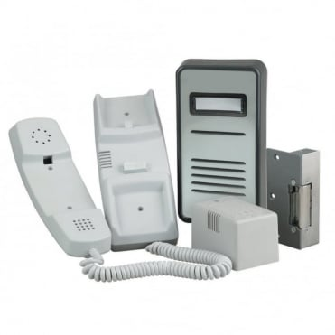 900 Series 1 Way Audio Door Entry System inc Lock Release