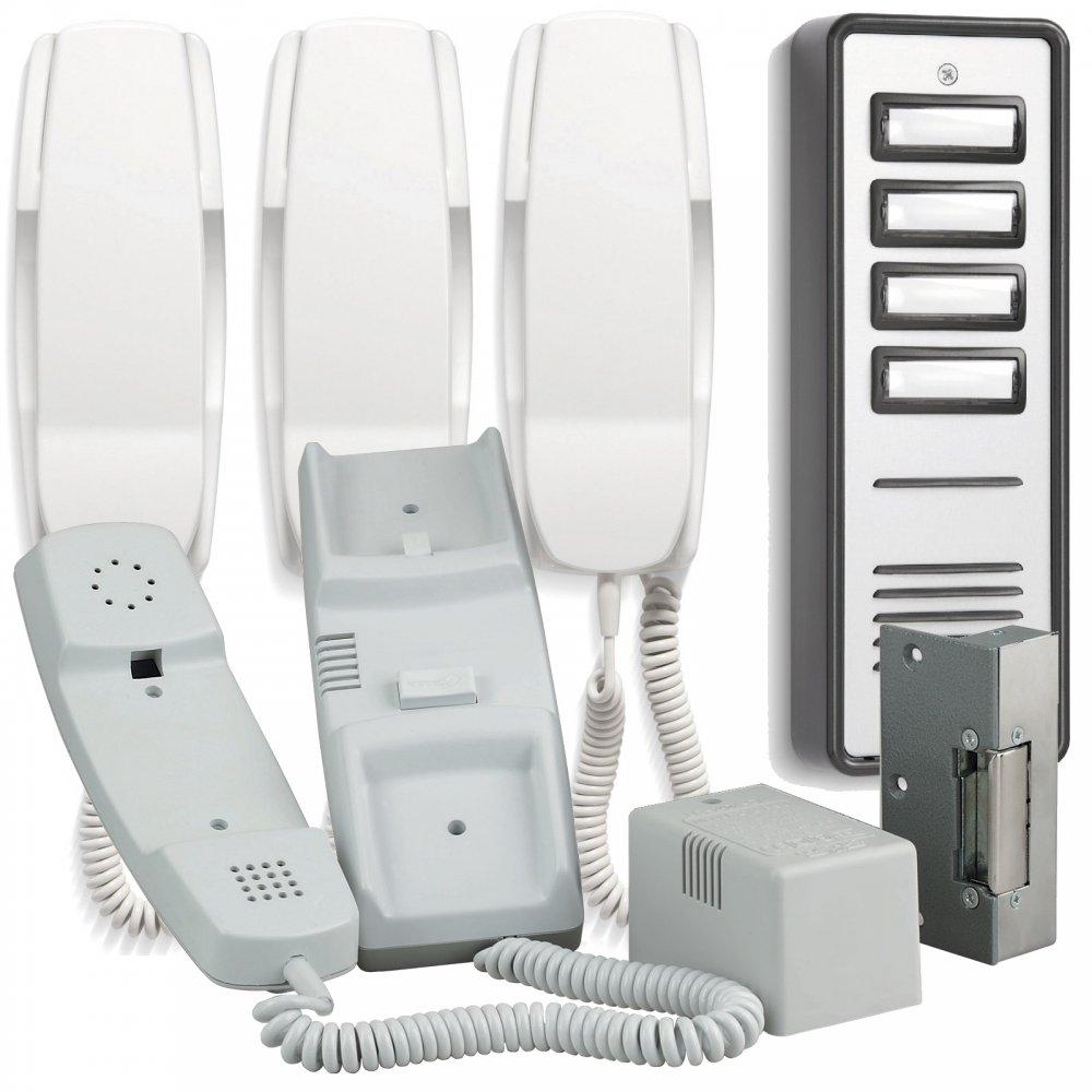 900 Series 4 Way Audio Door Entry System Inc Lock Release