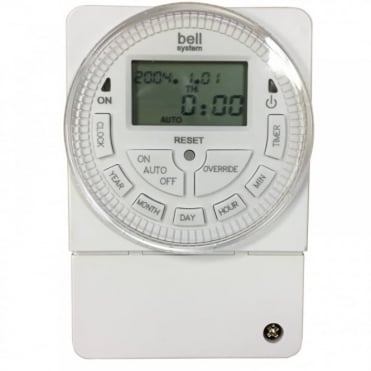 TS2000-BST 12V Progammable 7 Day LCD Digital Timer Switch 24 hr