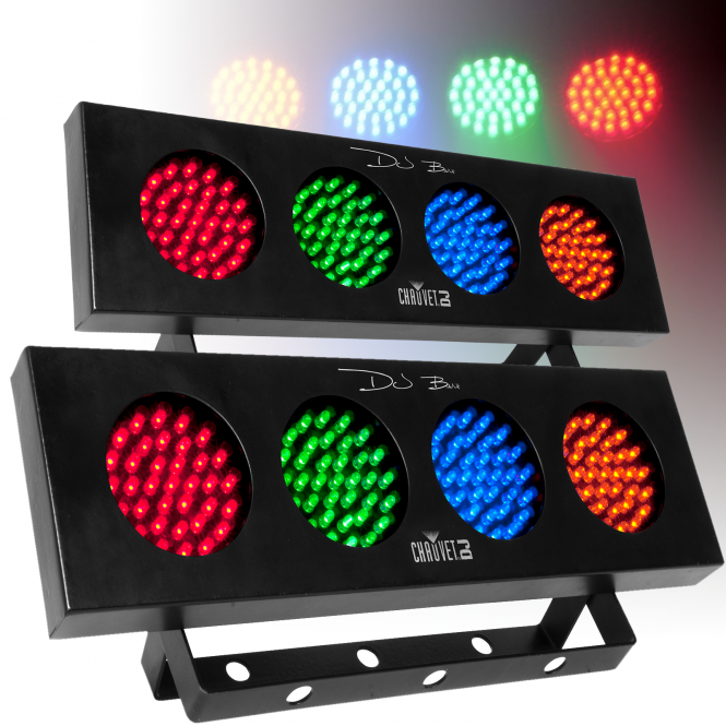 Chauvet Dj Bank 4 Colour Bar Strip Dj Lighting Effect