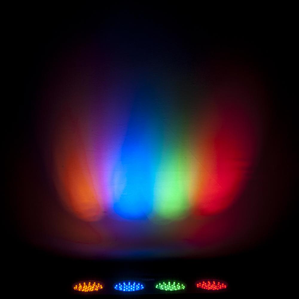 2 X DJ Bank 4 Colour Bar Strip Disco Party Light Sound Activated