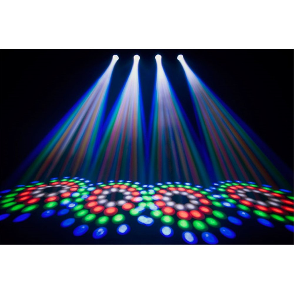 Chauvet 4Play Clear LED Lighting Effects Package Inc Case