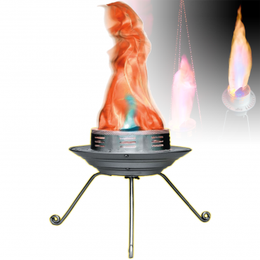 BOB LED Flame Machine Silk Decor Flame DJ Disco Club Lighting Effect