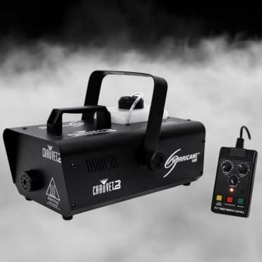 DJ Hurricane 1400 Pro Fog/Smoke Machine with Wired Remote NEW