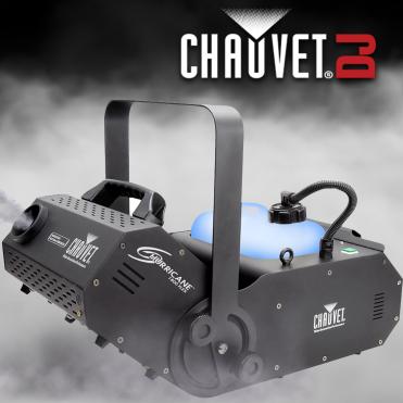 DJ Hurricane 1800 Flex Tilt DMX Smoke Fog Mist Machine Fogger
