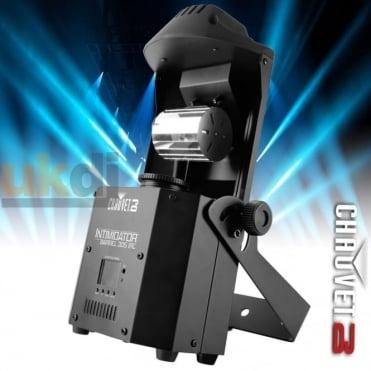 DJ Intimidator Barrel 305 IRC DMX 60W LED Moving Mirror Roll Head Lighting Effect
