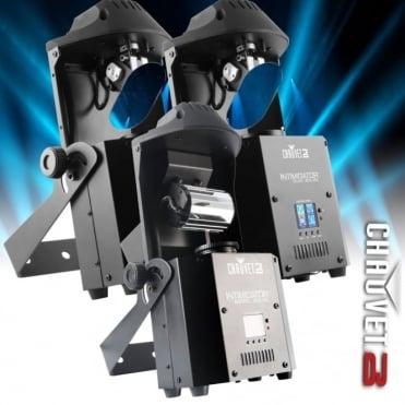 DJ Intimidator Scan 305 x 2 Barrel x 1 IRC DMX 60W LED Lighting Package