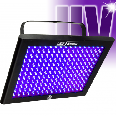DJ LED Shadow DMX UV Ultraviolet Glow Blacklight Panel Wash TFX 192