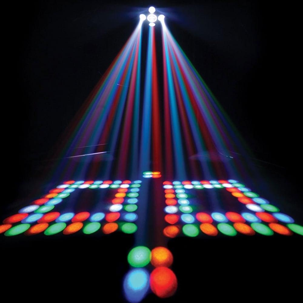 dj lighting circus 2 0 irc disco led effect strobe inc bags leads. Black Bedroom Furniture Sets. Home Design Ideas