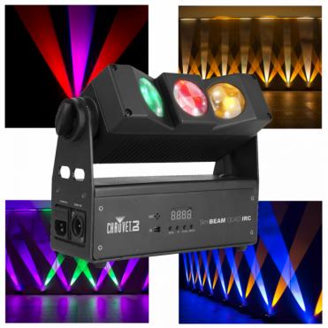 DJ SlimBeam Quad IRC LED RGBA Slim Beam Wall Accent Light