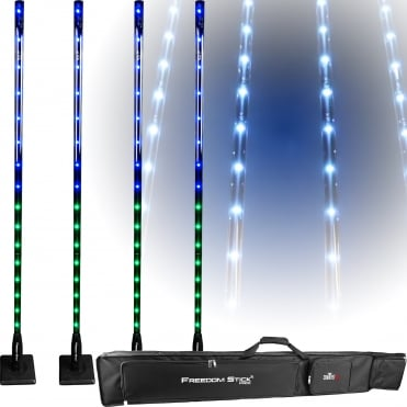 Freedom Stick Pack Free-standing LED Light Fixture inc Remote & Bag