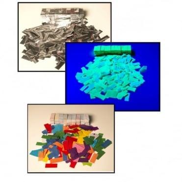 Funfetti Shot Confetti Cannon Refills - Colour Silver & UV