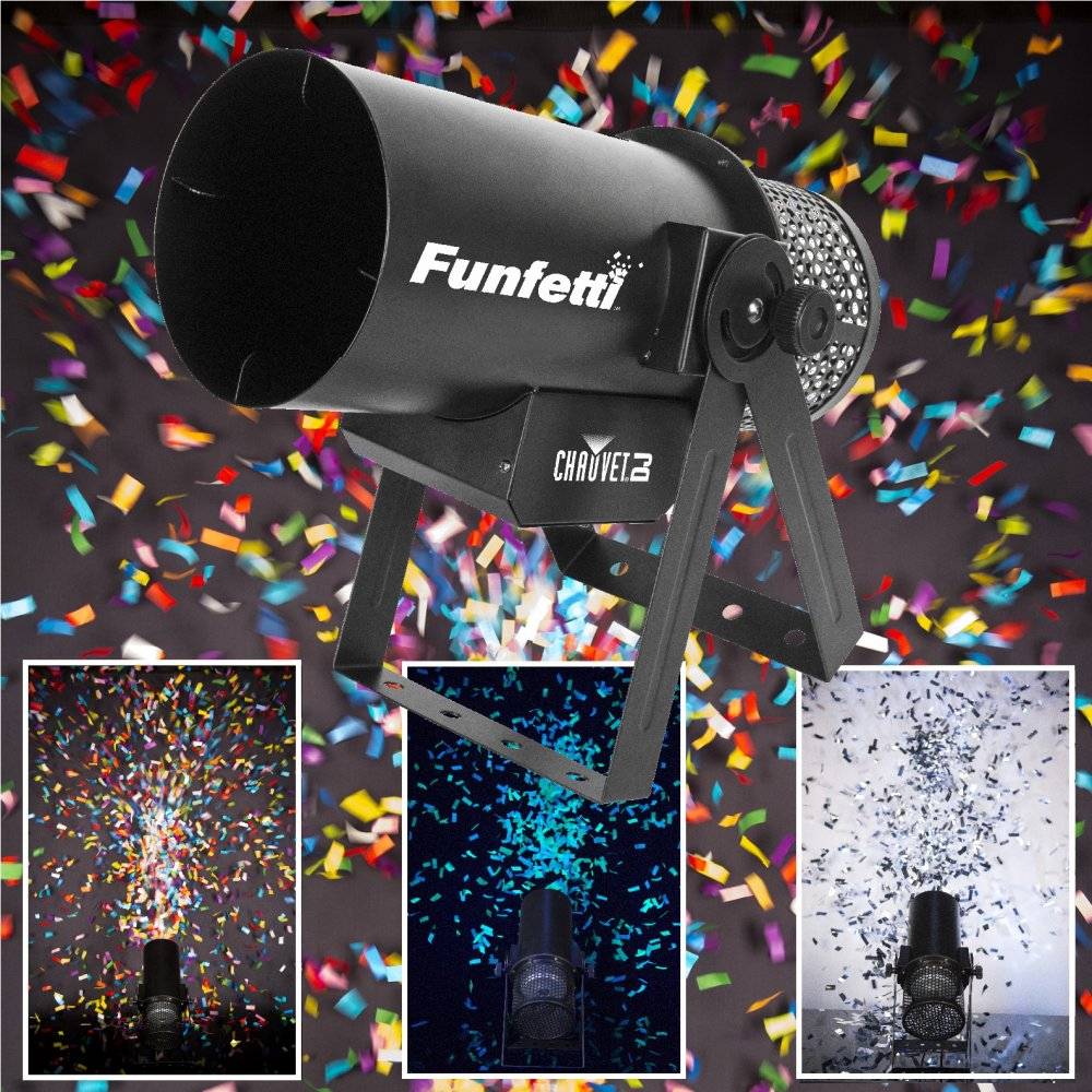 Chauvet Funfetti Shot Professional Confetti Cannon