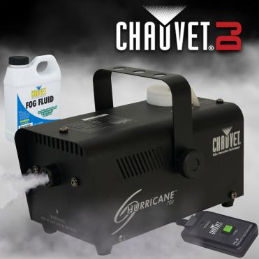 Hurricane 700 High Performance Professional Smoke Fog Machine